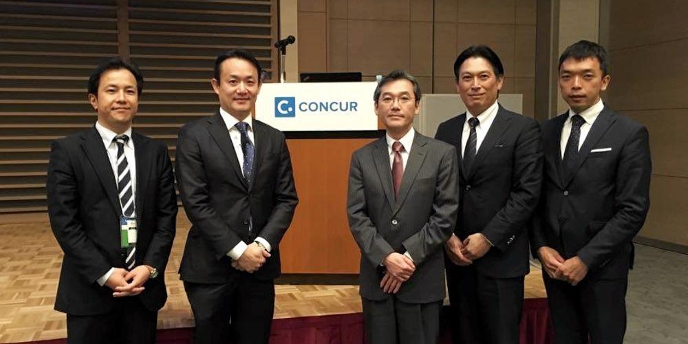 Concur Fusion Exchange Osakaに登壇しました