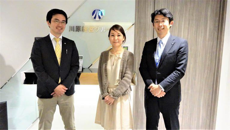 会計業務1部 田中 耕太朗 様 / 馬場 優 様 / 宮﨑 理香 様 - 01