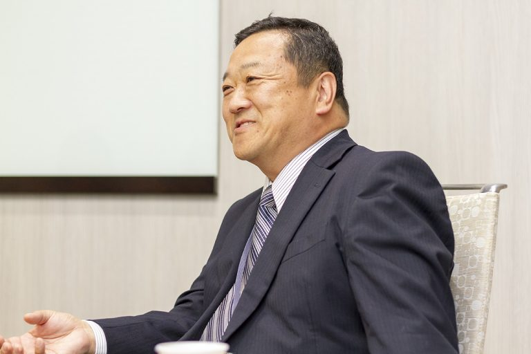 代表 近藤浩三 様 / 経営企画室長 吉田厚 様 - 02