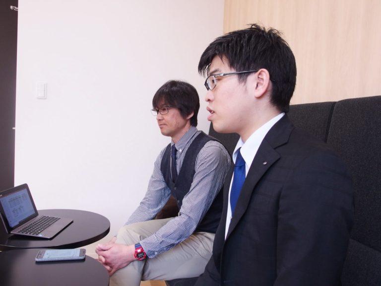 理事長:松井孝知 様/生産課:足立真平 様 - 02